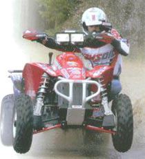 ATV Racing With Amsoil