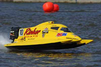Terry Rinker 4 Times National Champion Powerboat Racing