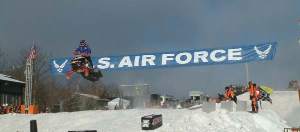 DJ Eckstrom Pro Open Snocross Win At Duluth National